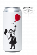 Girl with ballon - cognac oak matured quadrupel