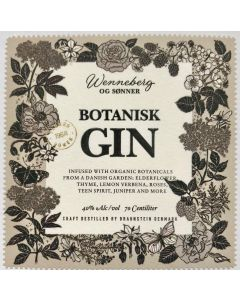 Botanisk Gin – ELDERFLOWER
