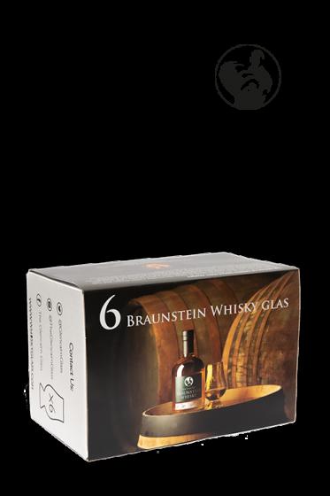 Whisky glas - 6 pak